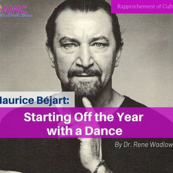Maurice Béjart: Starting Off the Year with a Dance