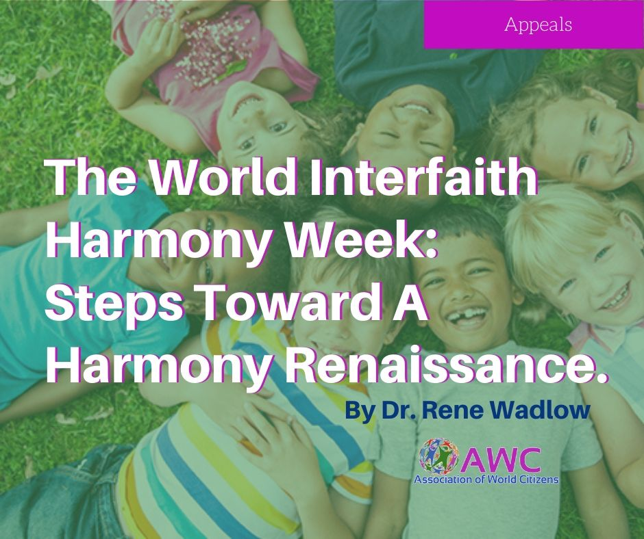 The World Interfaith Harmony Week