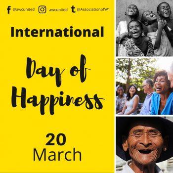 Internationl Day of Happiness.
