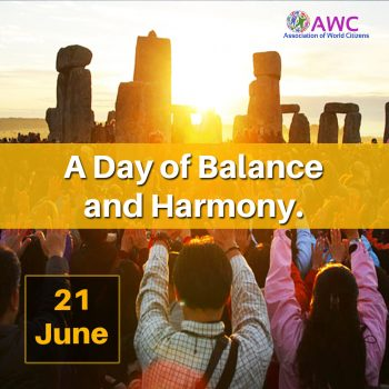 21 June: A Day of Balance and Harmony.
