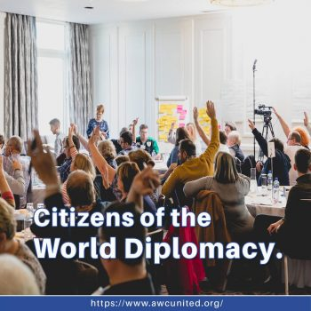 Citizens of the World Diplomacy.
