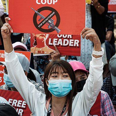 Burma: An Alternative to Military Rule Takes Form.