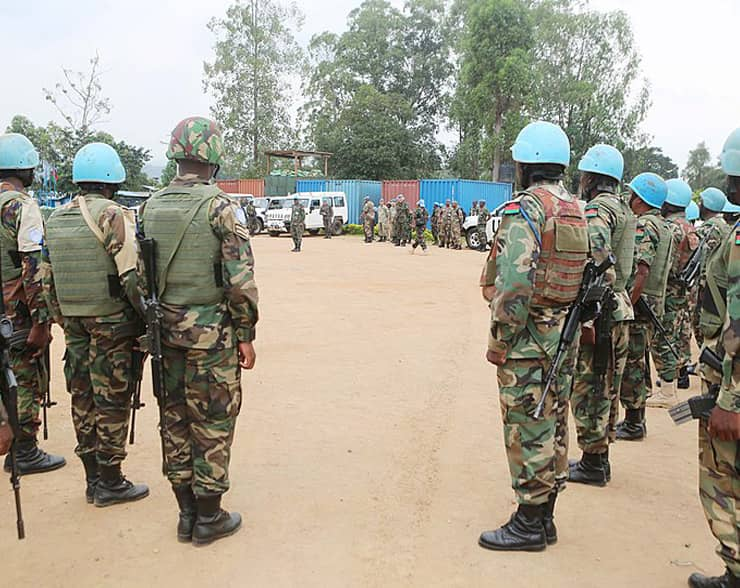 The United Nations Peacekeepers