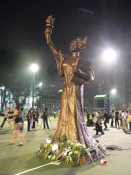 The Goddess of Democracy