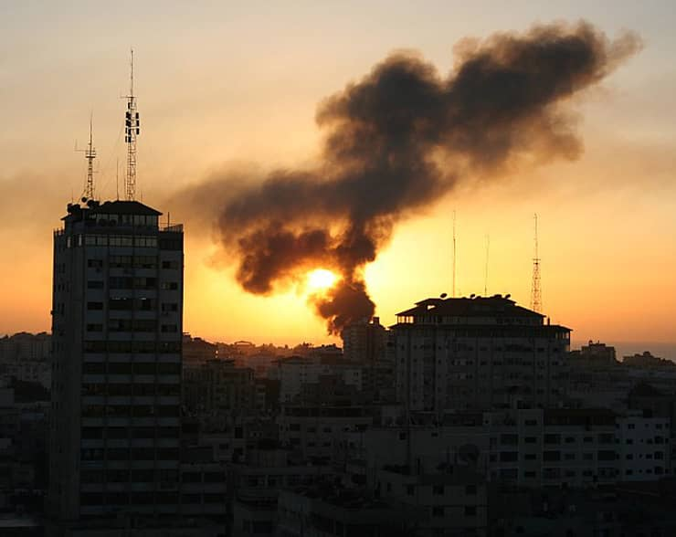 Jerusalem-Gaza Cease-fire.