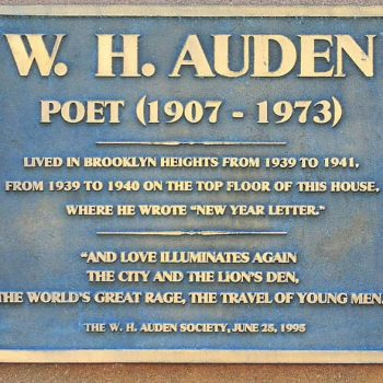 W.H. Auden: (1907-1973) Poet of the Age of Anxiety.