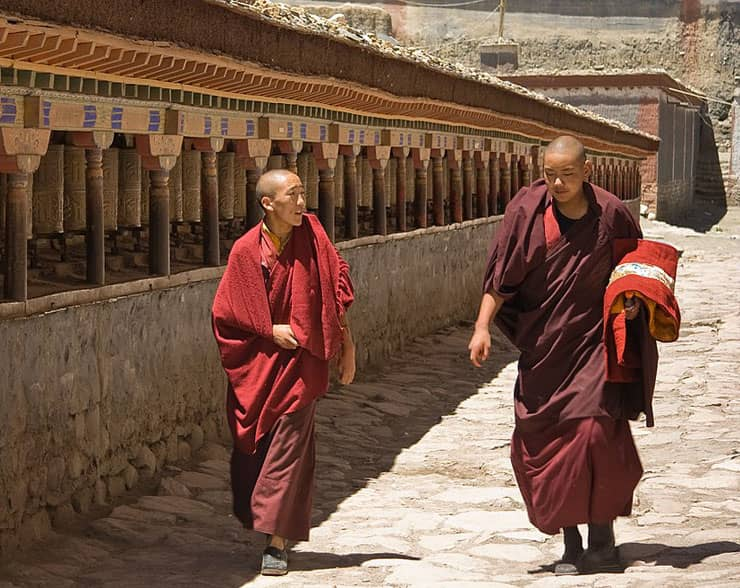 Crackdown on Buddhism in Tibet