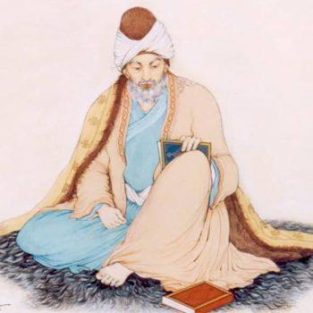 Jalal al-Din Rumi (30 Sept 1207 – 17 Dec 1273).